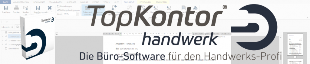 Handwerkerprogramm TopKontor Handwerk Banner